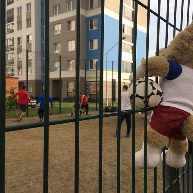 Футбол объединяет: в Академическом прошел матч между болельщиками из России и Перу
