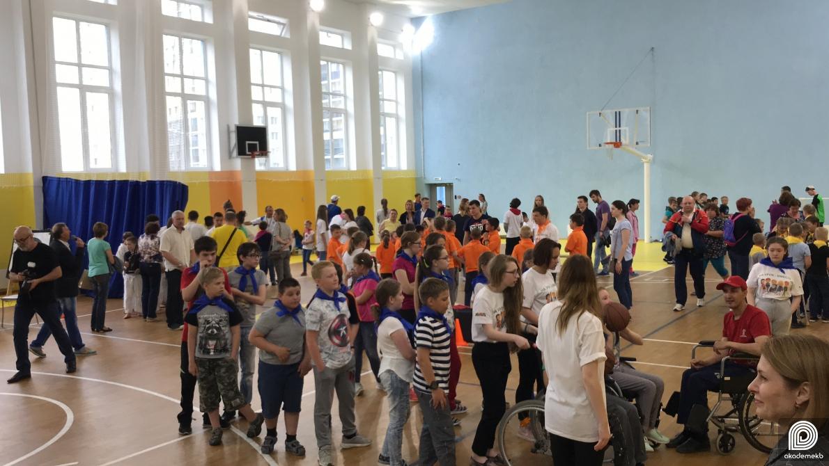 «На урок — вместе»: в школе №23 прошёл фестиваль параспорта