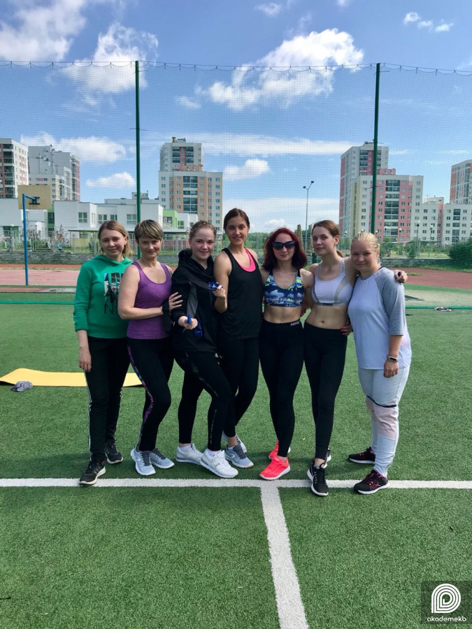 Energyakadem: в Академическом проходят бесплатные тренировки по фитнесу