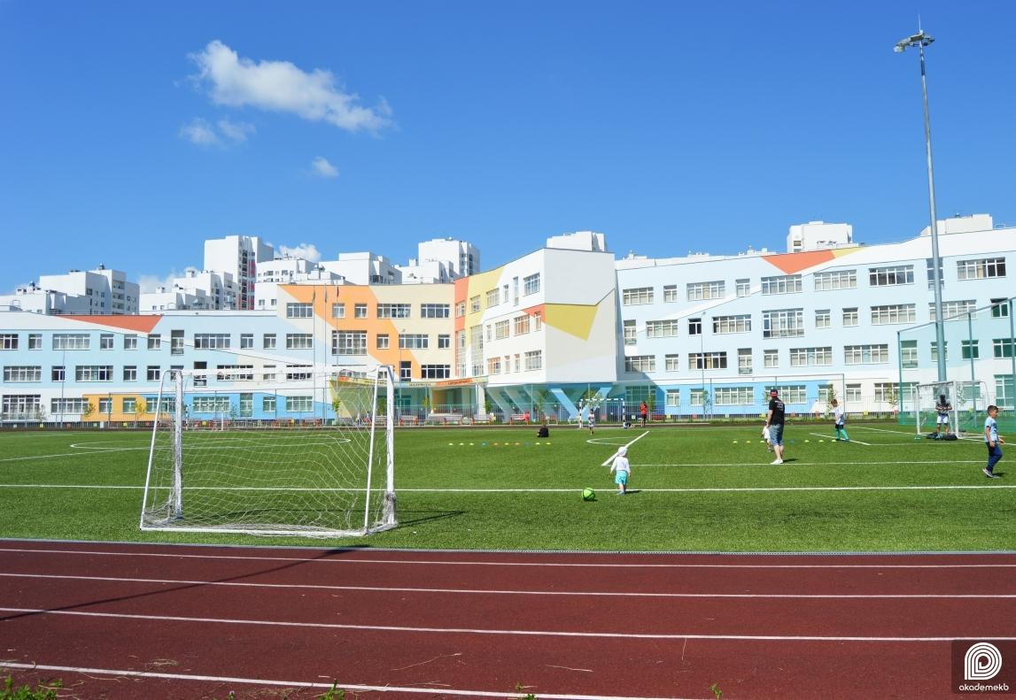 В первой очереди Академического построят семь новых спортивных объектов
