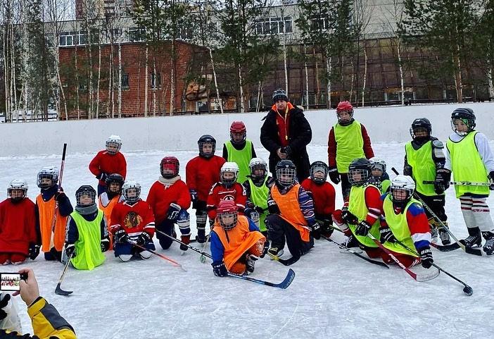 Хоккей дворовые игры