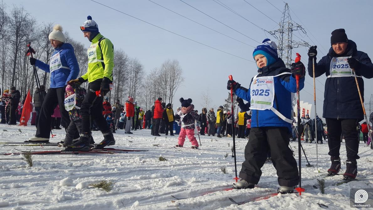 В выходные в Академическом стартует «Лыжня России–2020»