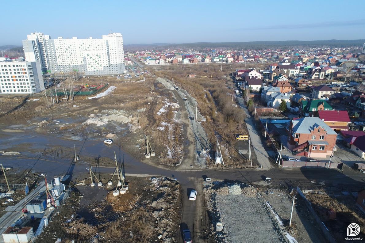 Улицу Тенистую перекроют на 8 месяцев для строительства продолжения улицы Краснолесья