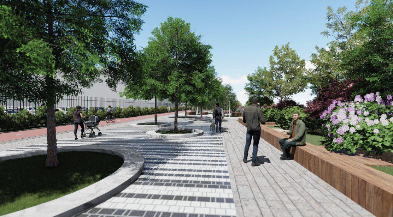Площадка для волейбола, скейт-парк и амфитеатр могут появится на набережной в Академическом