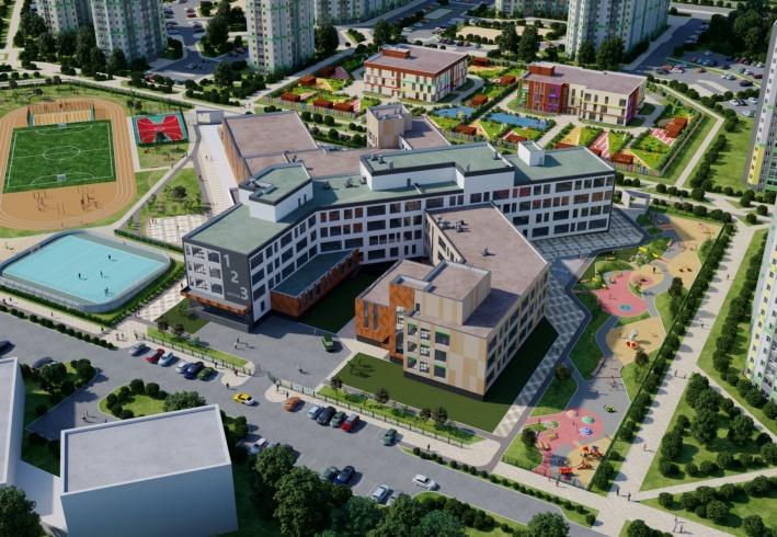 В 10 квартале началось строительство новой школы