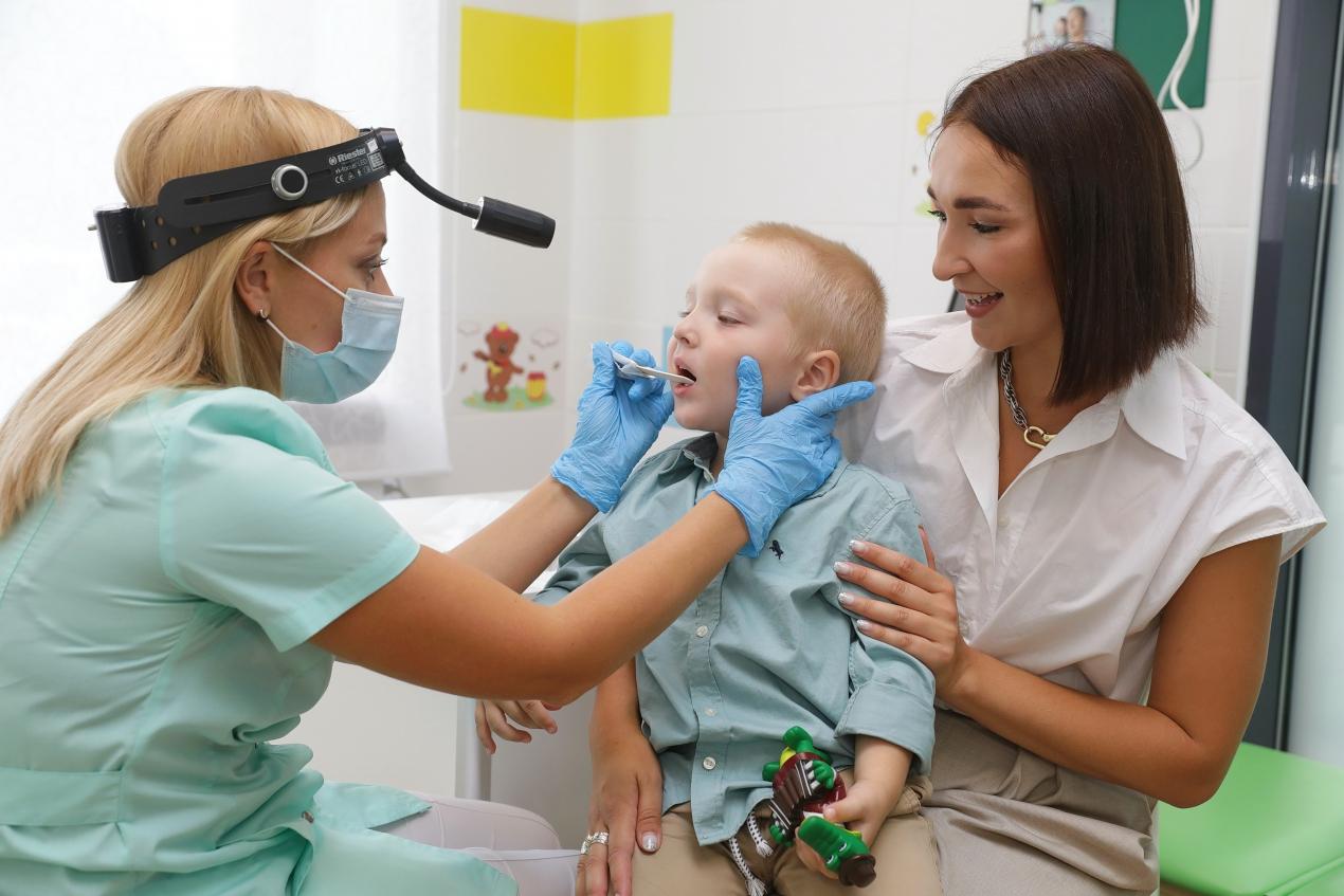 Новая медицинская клиника для детей открылась в АКАДЕМИЧЕСКОМ