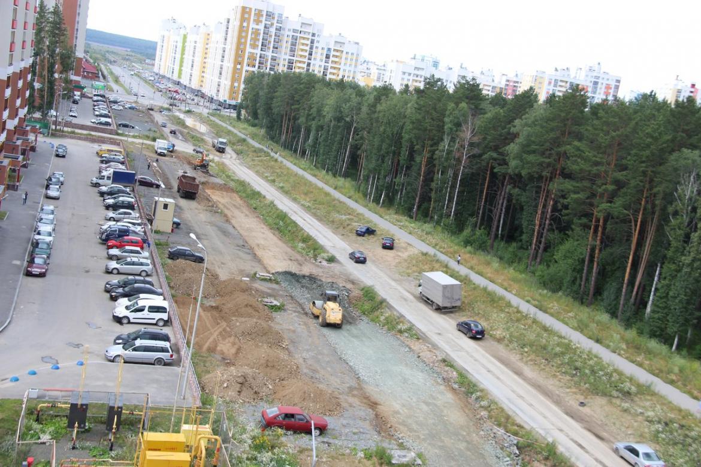 Нелегальная парковка на улице Мехренцева переехала