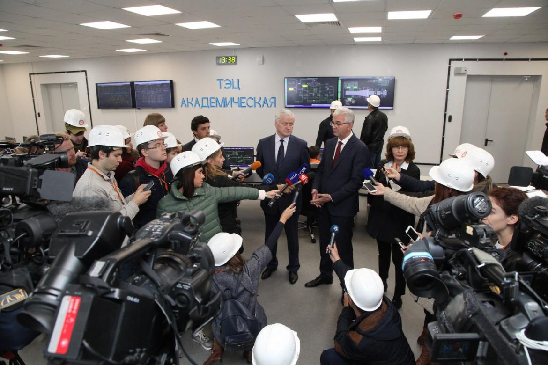 В Академическом торжественно запустили ТЭЦ «Академическая»