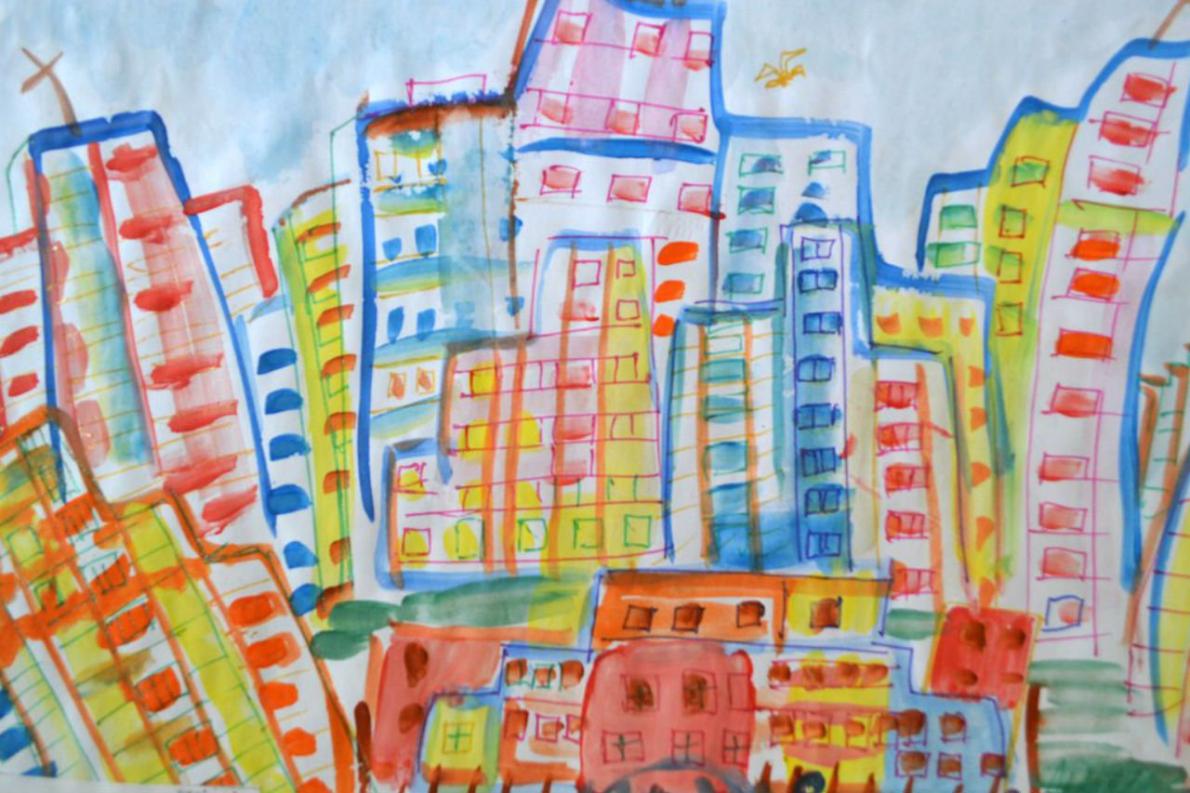 Юные художники из Академического района нарисовали Екатеринбург