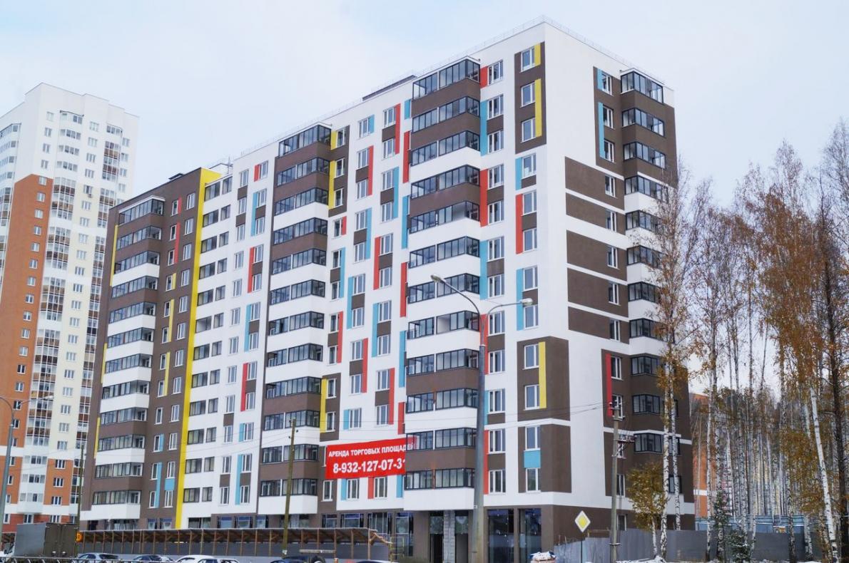 Дом бюджетников на Краснолесья-Чкалова сдадут в декабре