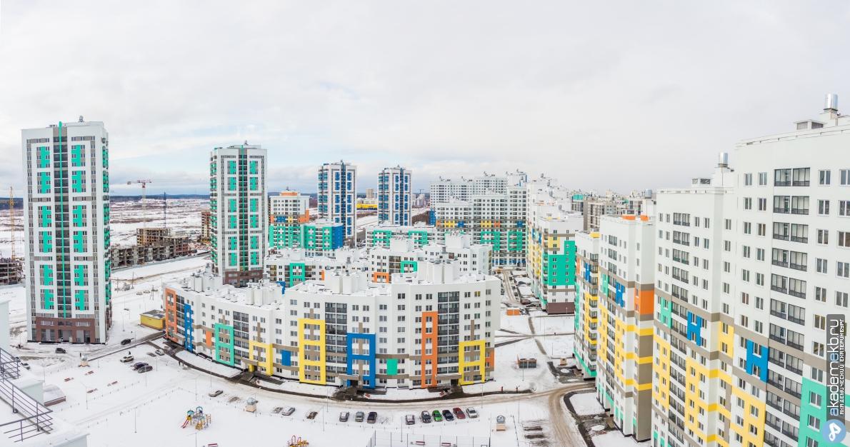 В районе начнут строить четырёх и пятикомнатные квартиры