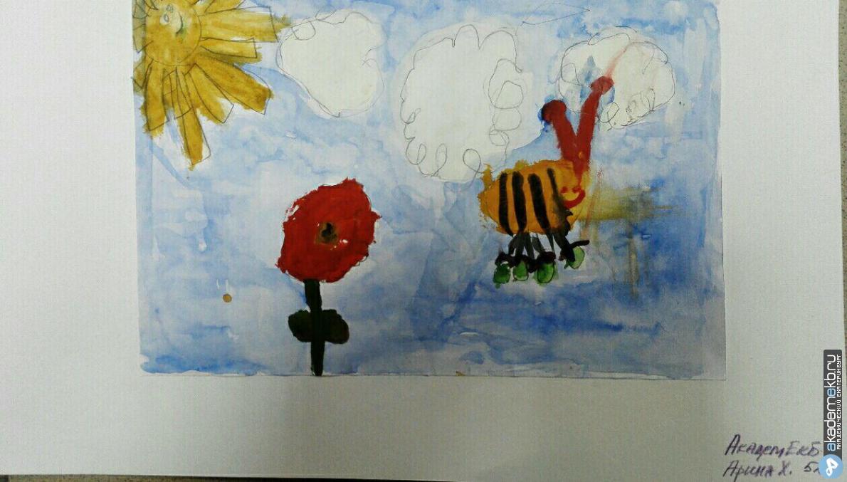 bee 2 Нарисуй пчелу конкурсанты