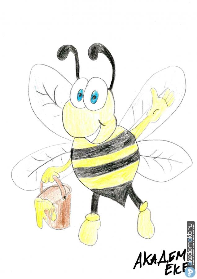 bee 3 Нарисуй пчелу конкурсанты